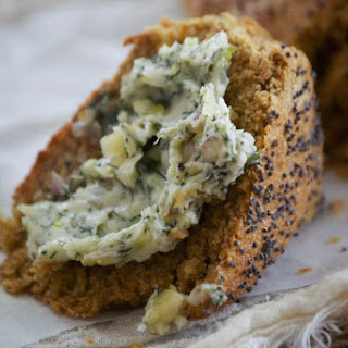 Rye Soda Bread with Dill Butter