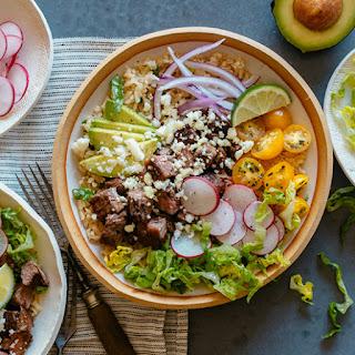 Carne Asada Burrito Bowls Recipe