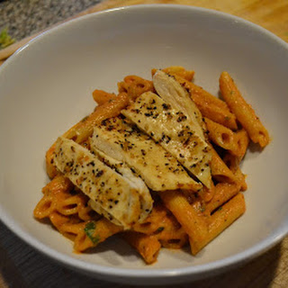 How To Spice Up Your Weeknight Pasta {With Chicken}