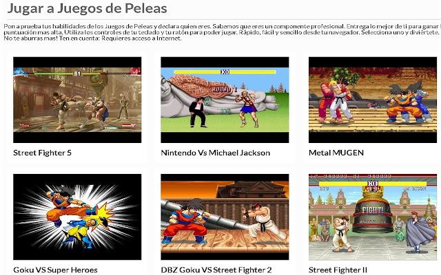 Juegos de Peleas | AppBack.pw