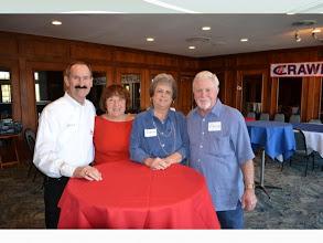 Photo: Jerry Smithson, Nona Beckham Eichelberger, Glenna Morrow Jacket and Vince Jacket
