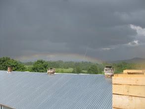 Photo: радуга над нашим участком