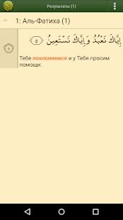 Коран на русском языке PRO screenshot