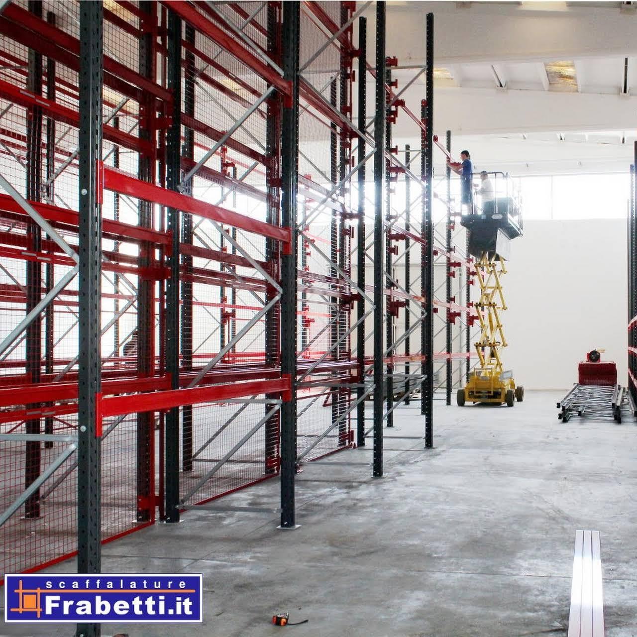 Scaffalature Metalliche Reggio Emilia.Frabetti Scaffalature Scaffalature Fornitura E Servizi Tecnici
