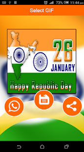 Republic Day GIF 2018 - 26 Jan Greetings & Wishes - náhled