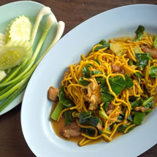 Chinese-Inspired Chicken And Noodles