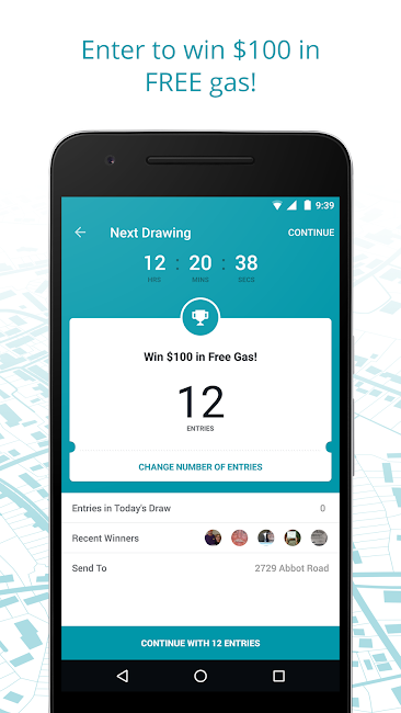 #4. GasBuddy: Find Cheap Gas (Android)
