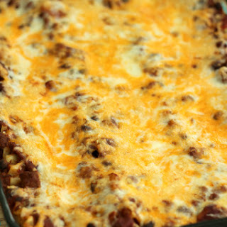 BBQ Chili Cheese Lasagna