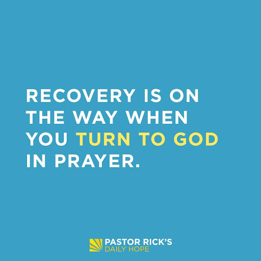 There's No Recovery Without Prayer
