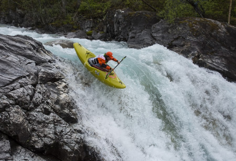 Brandseth Downhill by Olav Aga - Sports & Fitness Watersports ( brandseth downhill, voss, river kayak, kayak, extremsportveko-15, whitewater,  )