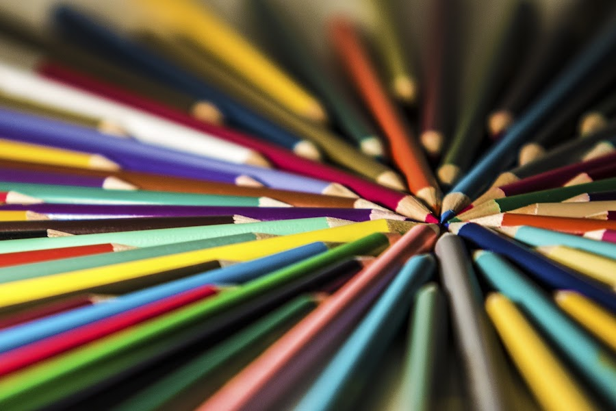 abstract by Robert Pracek - Abstract Patterns ( abstract, color, pwclines, lines, pencils )