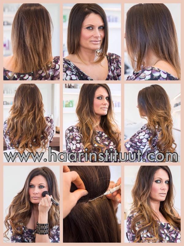 Haarverlenging realisaties