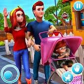 Virtual Mother Life: Mom Dad Simulator Android APK Download Free By Toucan Games 3D