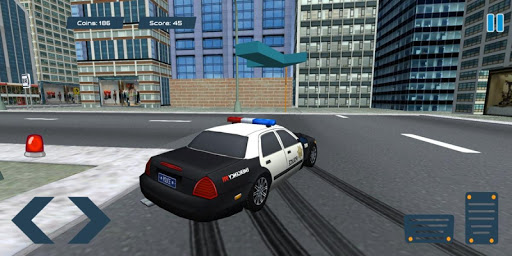 Police Car Drift Simulator screenshot 1