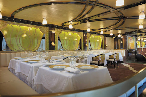 seven-seas-explorer-Chartreuse.jpg - Enjoy memorable ocean views when dining at Chartreuse, which features a classic French menu with a modern twist, on Seven Seas Explorer.