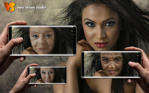 Make Me Old App: Face Aging Effect Photo Editor ss1