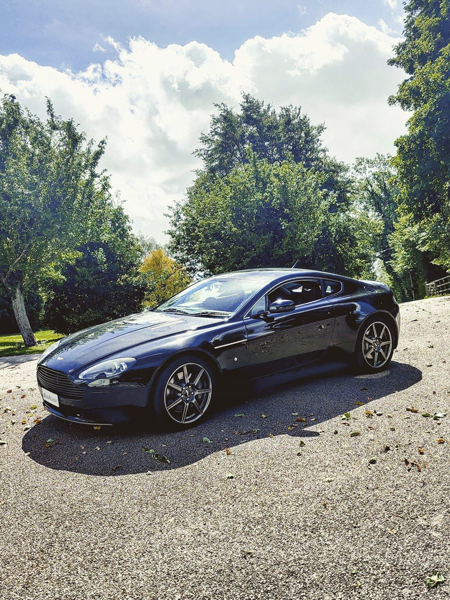 Aston Martin Vantage V8 Hire London