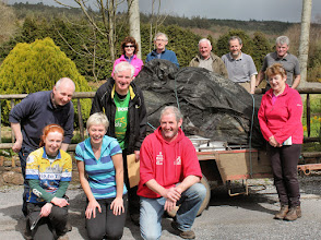 Photo: Clean-up day in the Glen, Saturday April 5, 2014. Photo by Frank McMahon, Limerick Climbing Club. 2 of 3