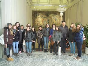 """Photo: 09/02/2015 - Liceo scientifico """"Avogadro"""" di Vercelli. Classe II B - TR."""