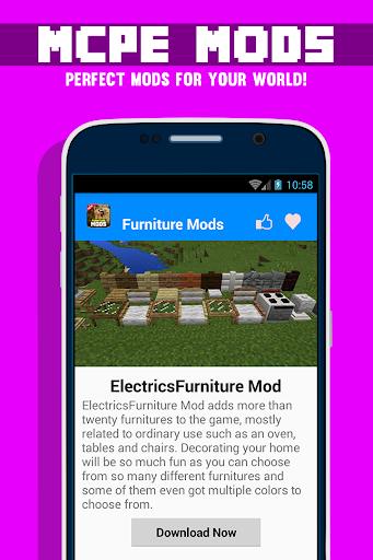 免費下載娛樂APP|MCPE 가구 MODS app開箱文|APP開箱王