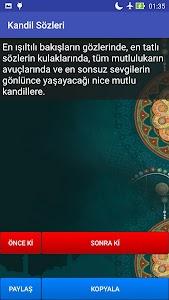Kandil Sözleri screenshot 3