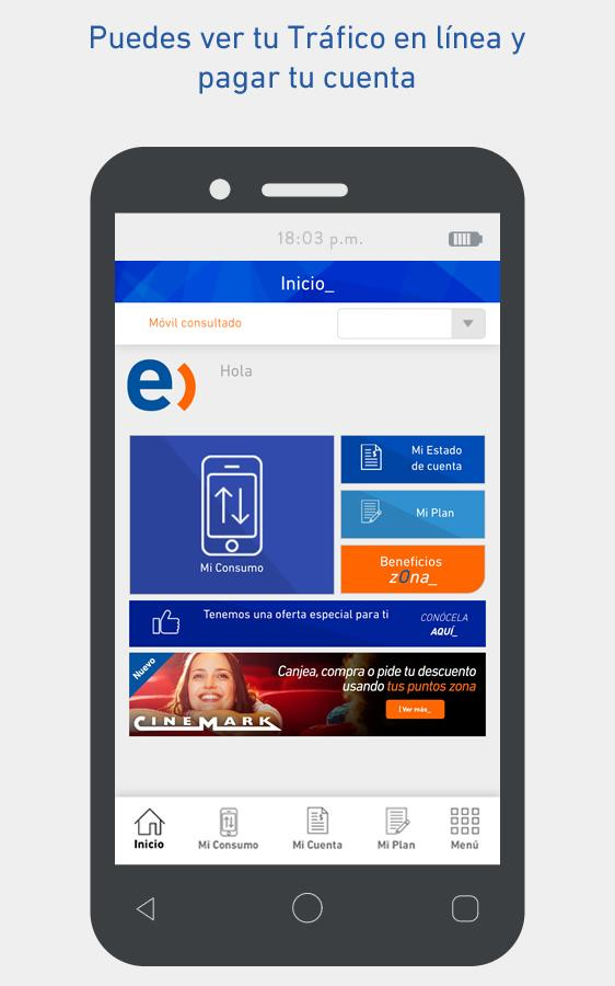 Entel- screenshot