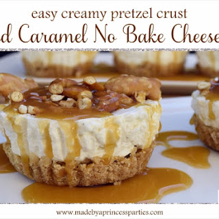 Easy Creamy Pretzel Crust No Bake Cheesecake