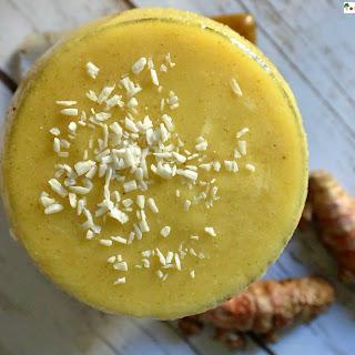 Pineapple Turmeric Smoothie.