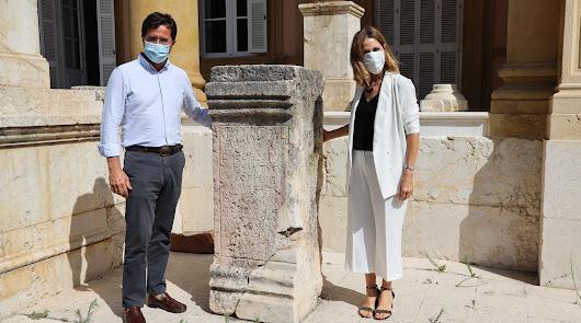 El pedestal de Porcia Maura se une al 'joyero arqueológico'