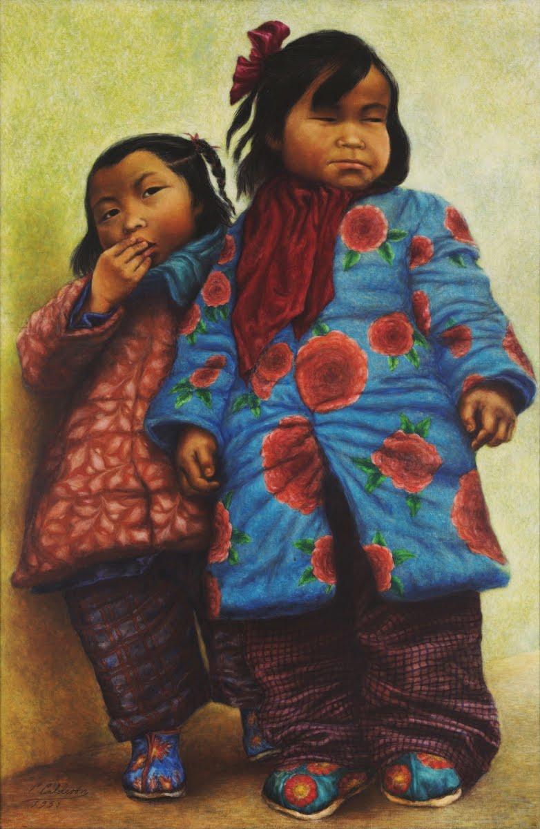 Niñas Chinas - Celia Calderón — Google Arts & Culture