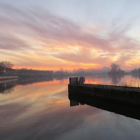 Sunrise by Karen Noble - Landscapes Sunsets & Sunrises (  )