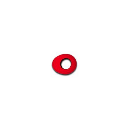 Oval Large - Red MicroFiber - Bluestar