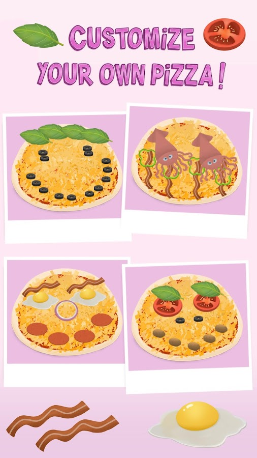 Baby Chef Sofia's Pizza Party- screenshot