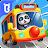 Baby Panda's School Bus - Let's Drive! logo