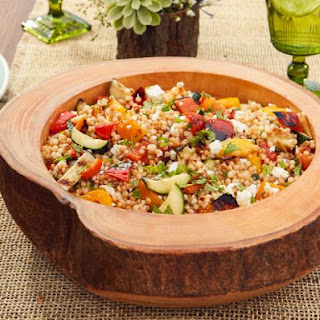 Grilled Vegetable Couscous Salad.