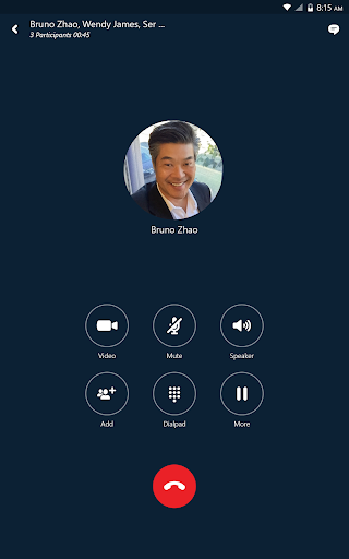 Skype for Business for Android 6.27.0.18 screenshots 11