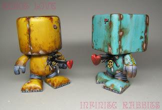 Photo: Robot Love 1 & 3 - Color Blanks