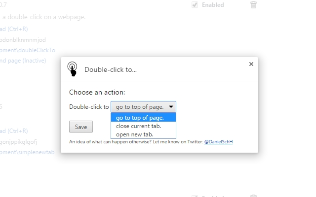 Double-click to...