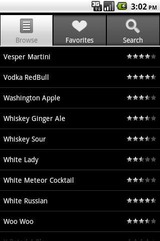 Bartender screenshot 1