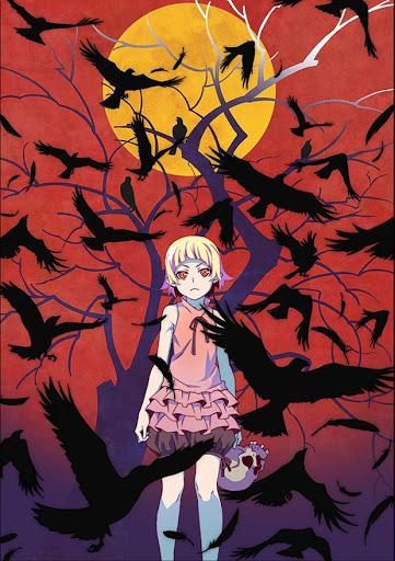 Imagen promocional de la película Kizumonogatari II Nekketsu-hen