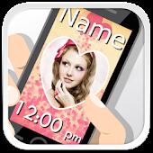 Name & Photo Lock Screen