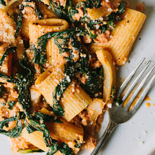 Swiss Chard, Fennel, and Sausage Pasta.