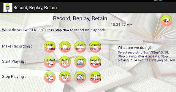 Record, Replay, Retain screenshot 5