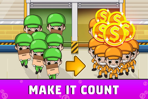 Idle Factory Tycoon: Cash Manager Empire Simulator screenshot 2