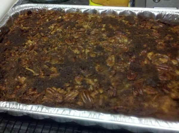 Praline Pecan Upsidedown Cake Recipe
