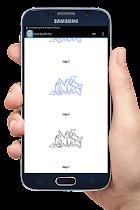 Learn Draw Graffiti - screenshot thumbnail 02