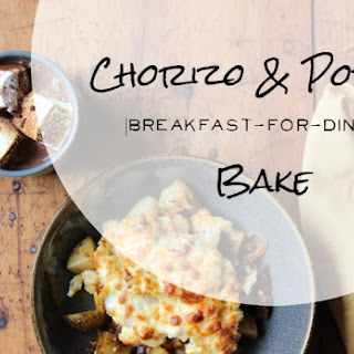 Chorizo and Potato Breakfast-for-Dinner Bake