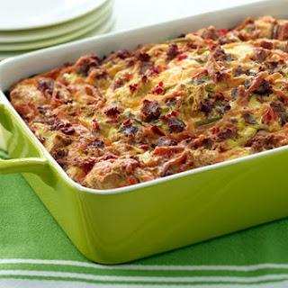 Turkey Sausage & Pepper Breakfast Casserole Recipe