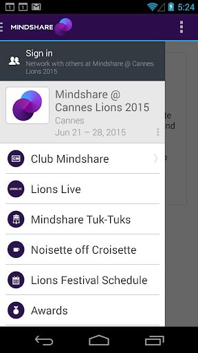Mindshare Cannes Lions 2015