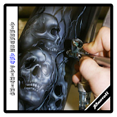 airbrush art painting